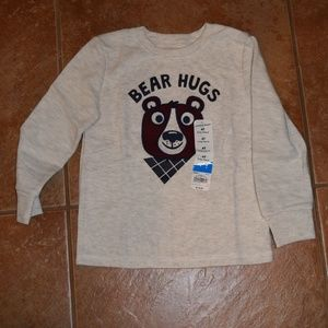 "NWT - Jumping Beans ""Bear Hugs"" Shirt - Size 4T"